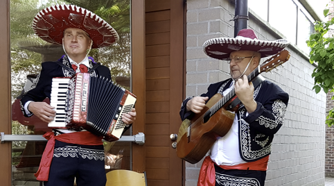 Mariachis in The Nederlands